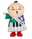 浜松市マスコットキャラクター「出世大名家康くん」