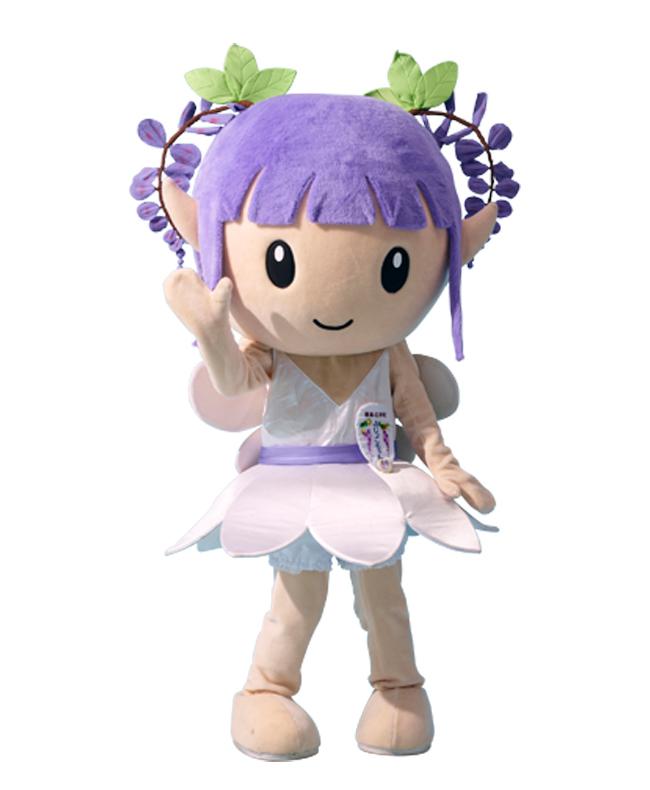 石井町イメージキャラクター「ふじっこちゃん」