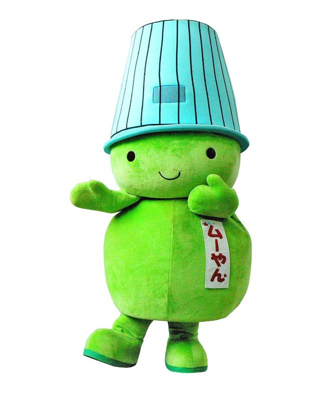 堺市環境マスコットキャラクター「ムーやん」