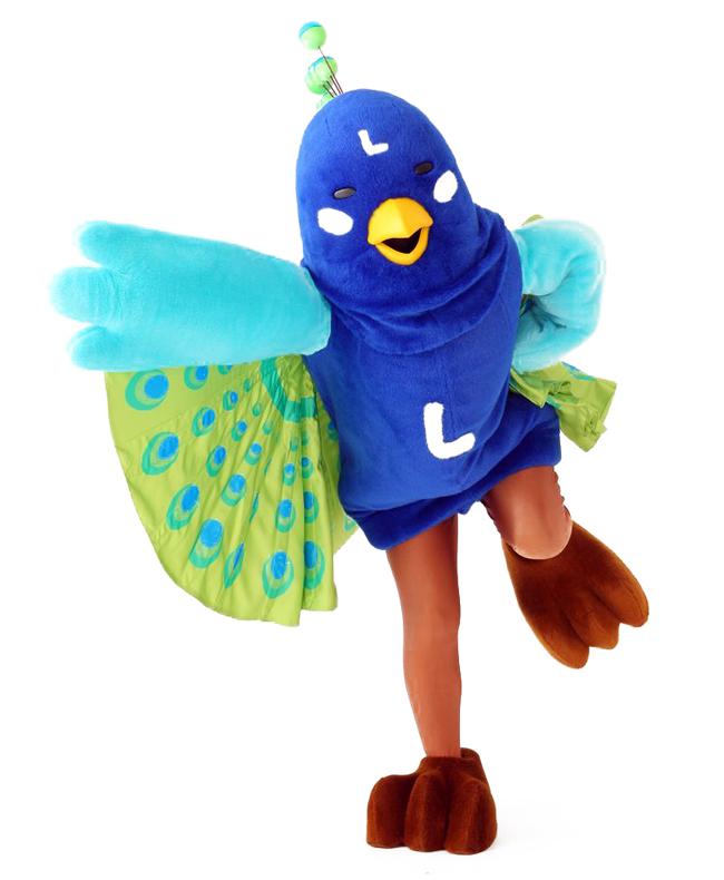 クジャックっす(・△・)今年の会場は、僕の地元、愛知県のセントレア空港!僕とは「飛行つながり」ってワケっす!みんなのオーエンで、ホントに飛んじゃうかもっす!