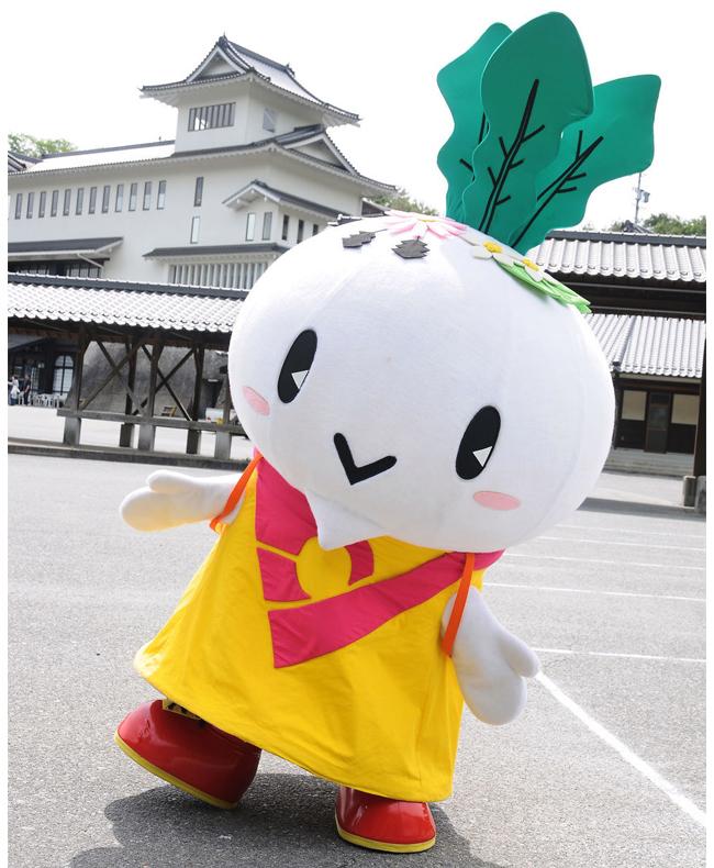 からみん(下條村ご当地キャラクター)