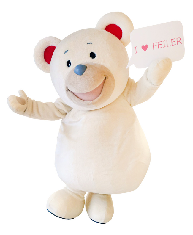フェイラー公式キャラクター FEILER Bear リーベくん