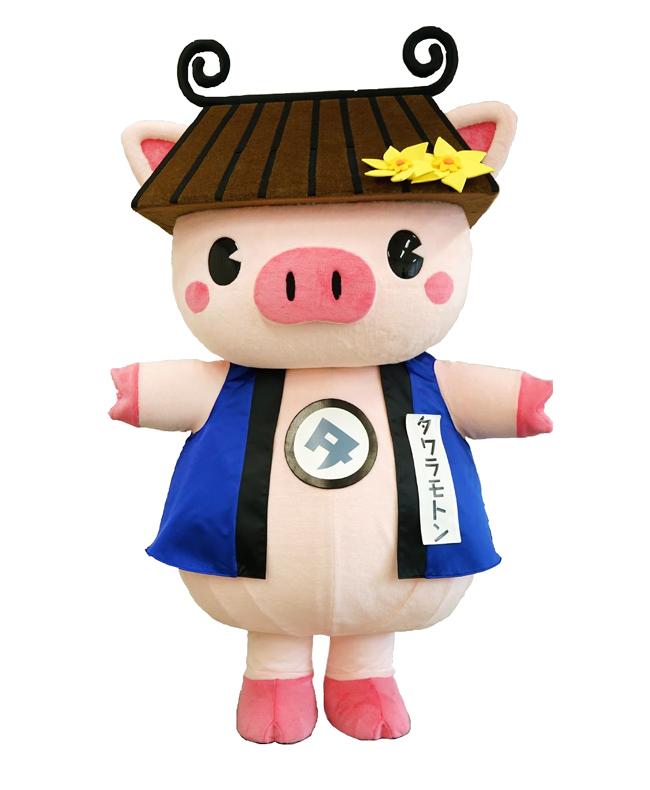 田原本町公式キャラクター「タワラモトン」