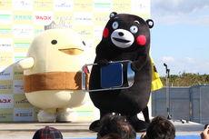 【海ステージ】「くまモン」、「バリィさん」による応援PR!